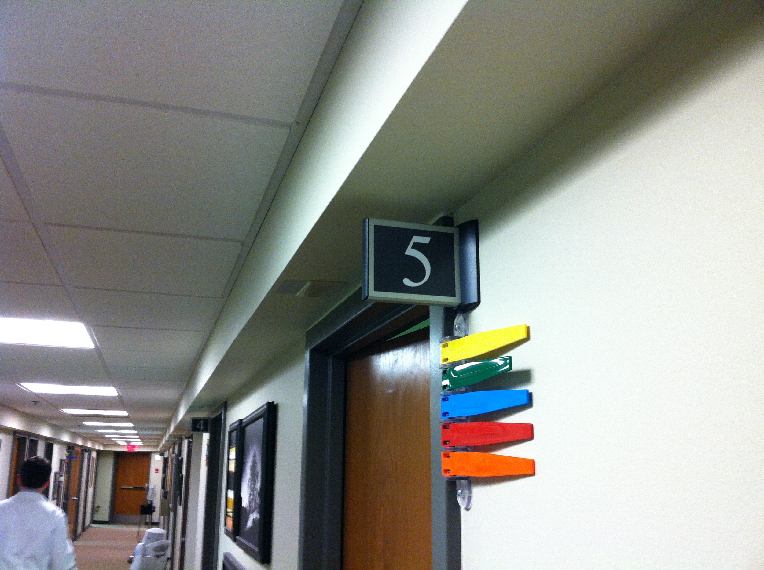 Springer Exam Room Sign.JPG