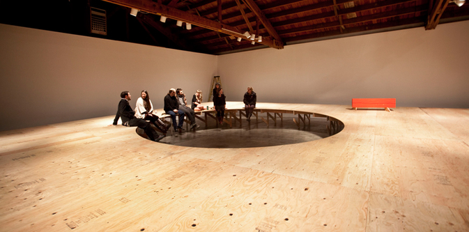In Site  installed at Disjecta Contemporary Art Center, 2011