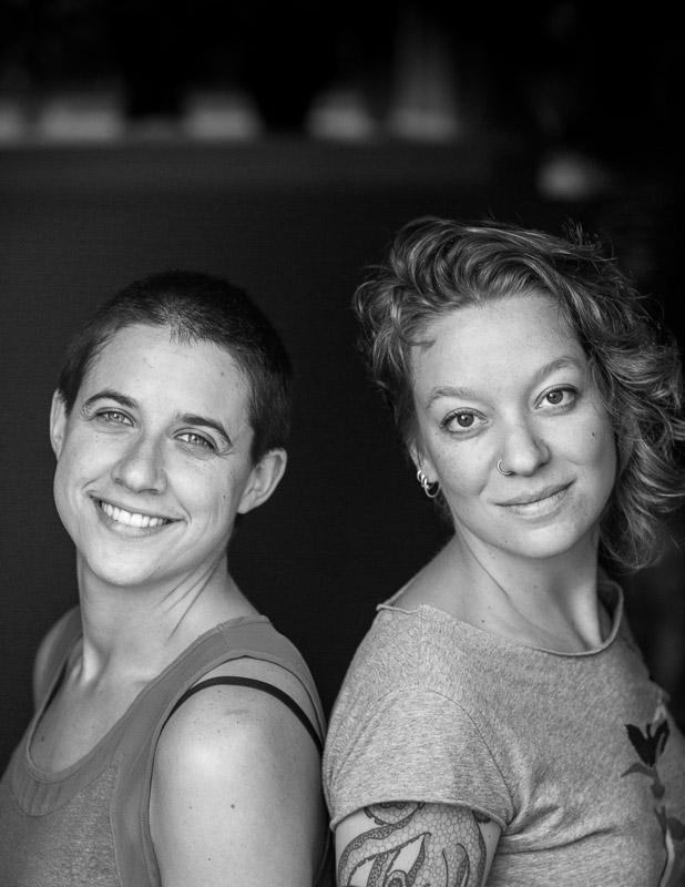 Kate Olson and Naomi Siegel of Syrinx Effect
