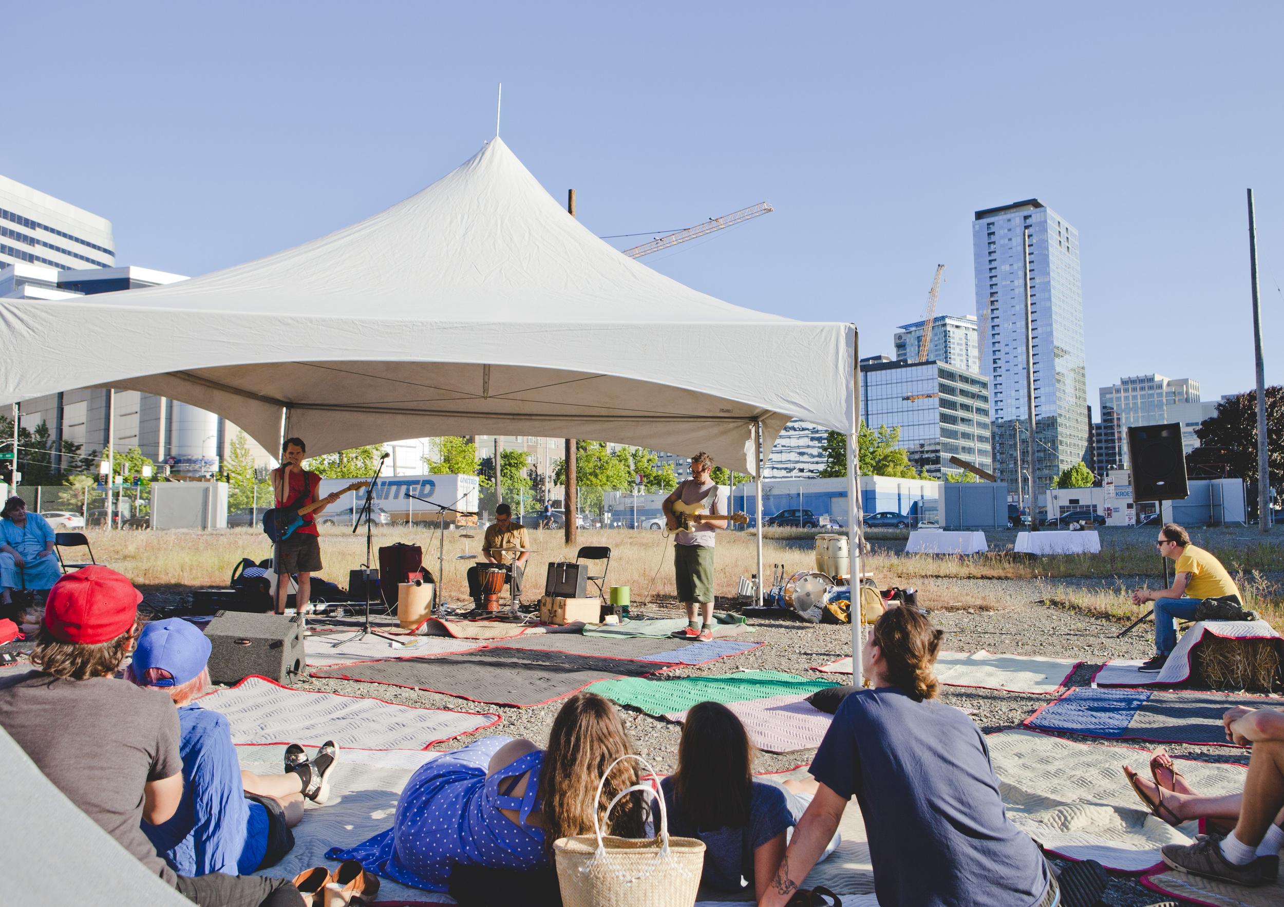 Chris Johanson's Quiet Music Festival of Portland in Seattle