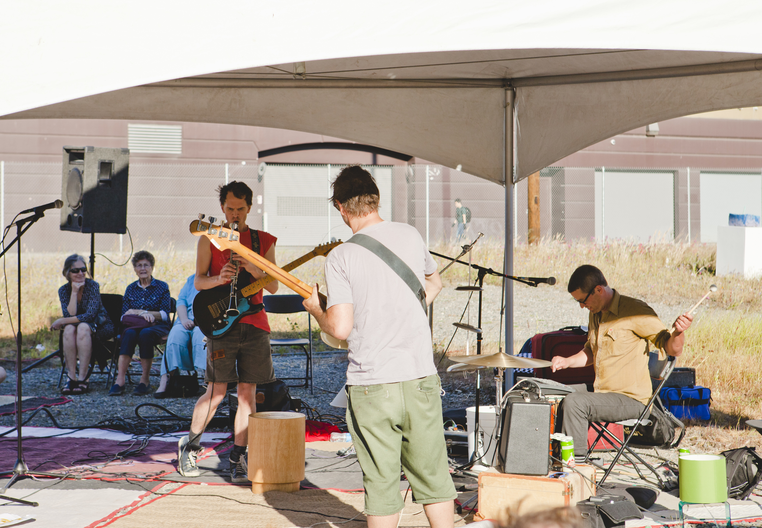 Sun Foot plays Quiet Music Festival at ALL RISE. Photo Max Cleary