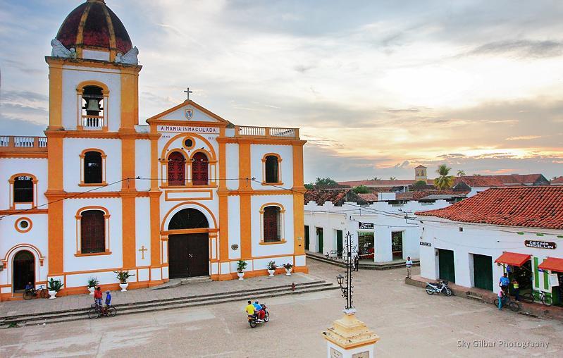 Iglesia de la Concepción in Mompos.
