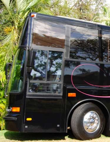 Fleetwood's can coordinate round triptransportation to our venue orto one of our proprietaryoffsite properties. Quotes based on guest count and location.
