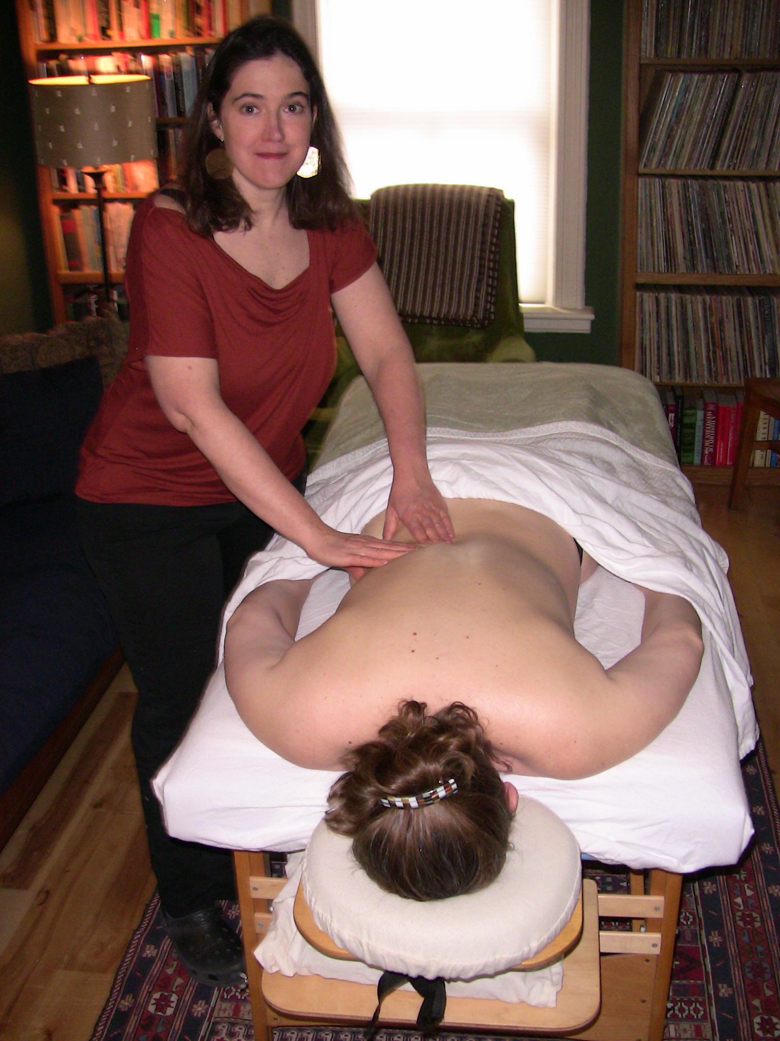 Deep tissue massage Burlington VT