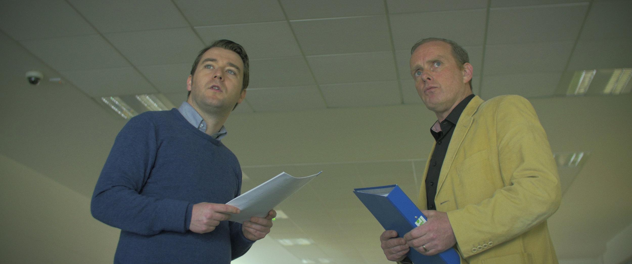John Morton and Ciaran McCauley in Locus of Control