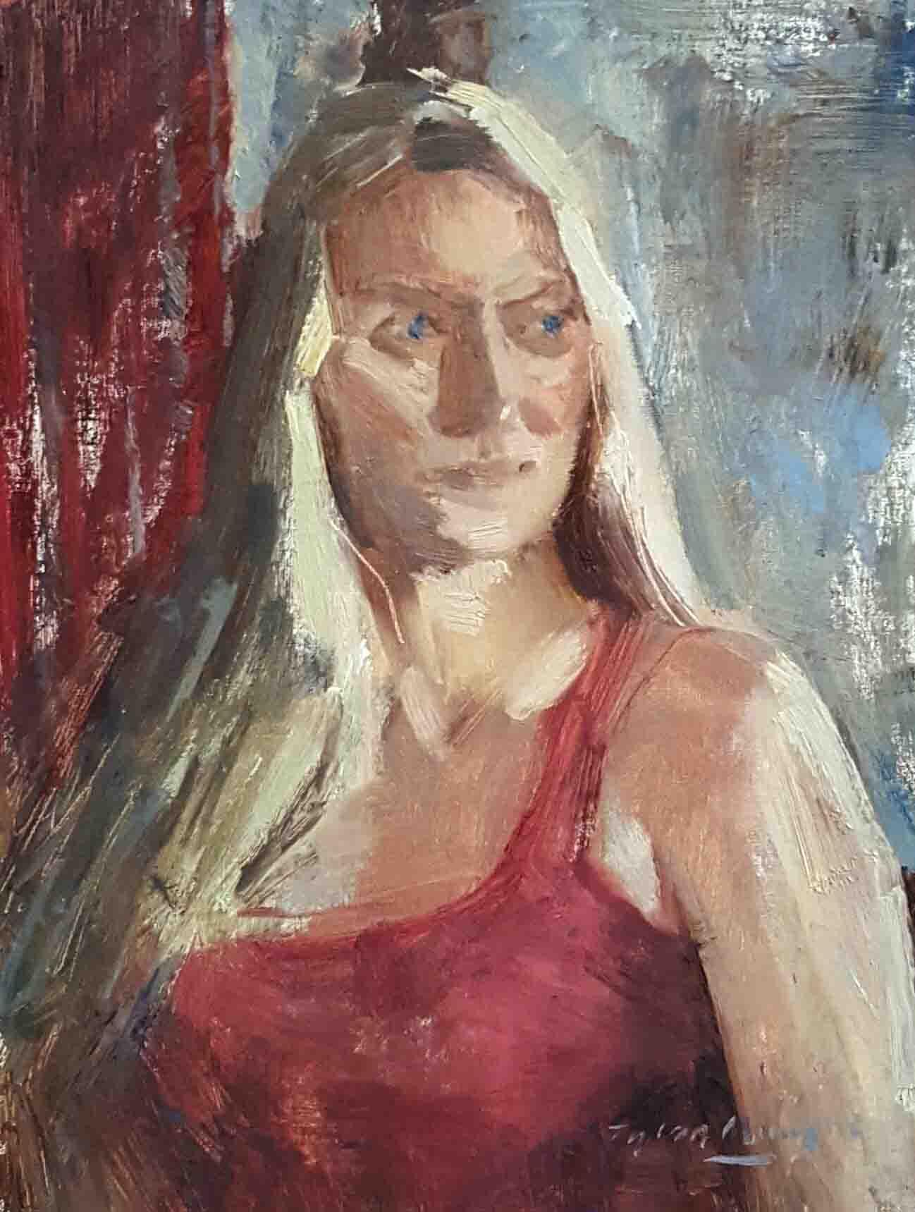 My Russian Friend Anna 9x12.jpg