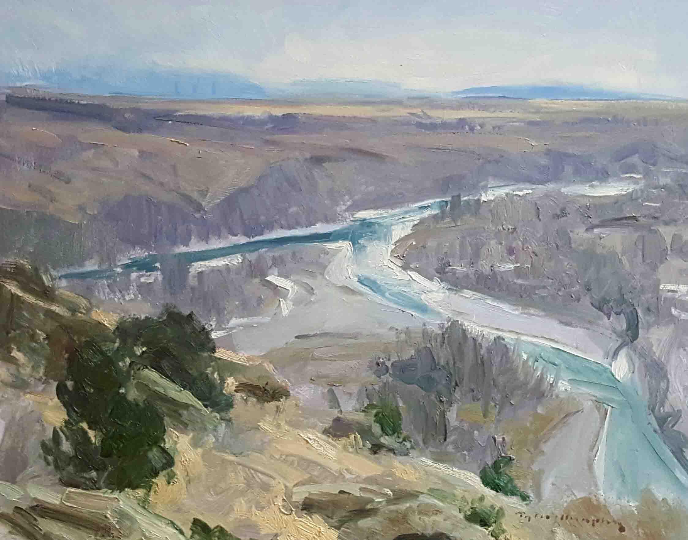 Overlooking the Yellowstone 11x14.jpg