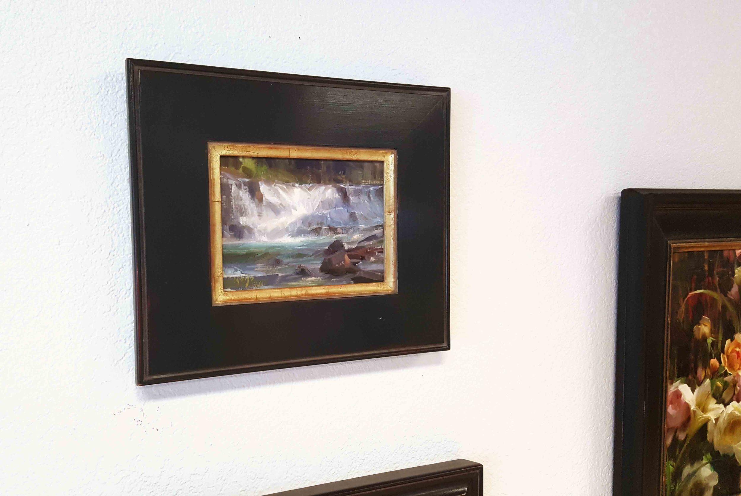 "Daniel Keys ""McDonald Falls"" with Nate Closson frame"