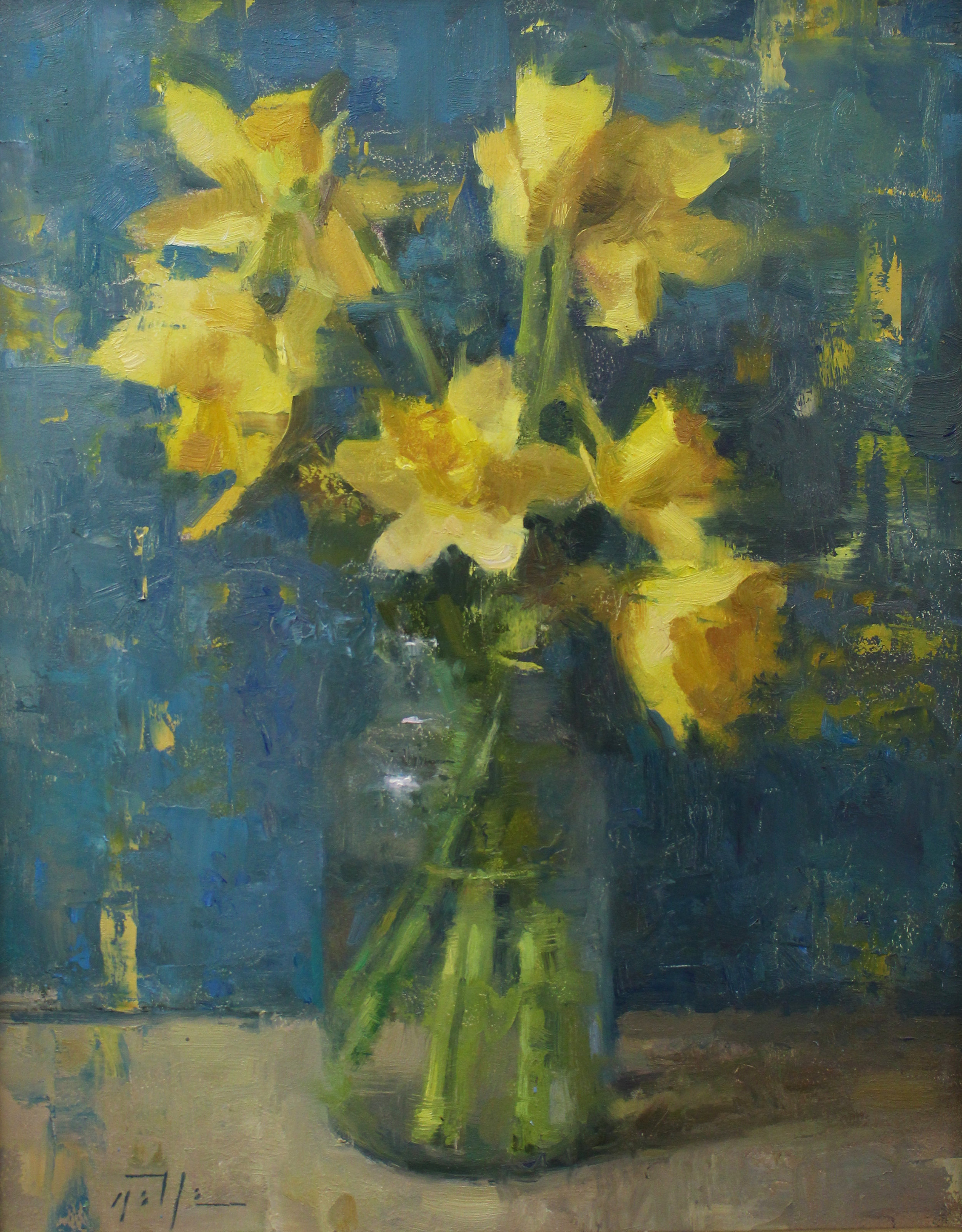 %22Arrangement in Yellow and Blue%22 14%22x11%22 $1300.jpg