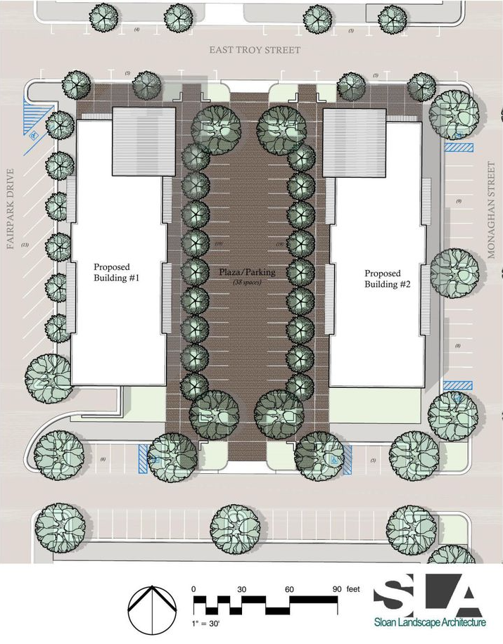 Phase III: Fairpark Plaza Site Plan