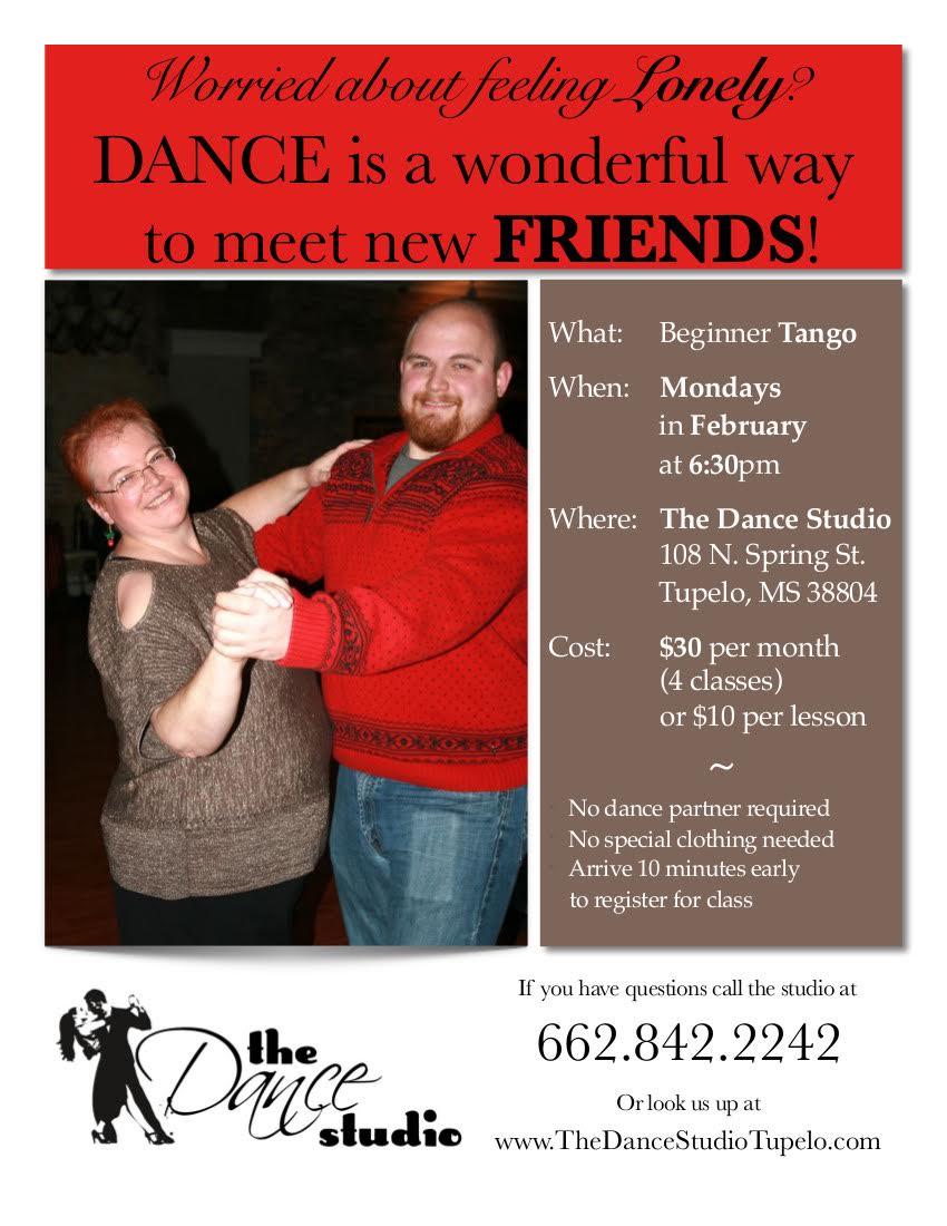 Beginner Tango at the Dance Studio