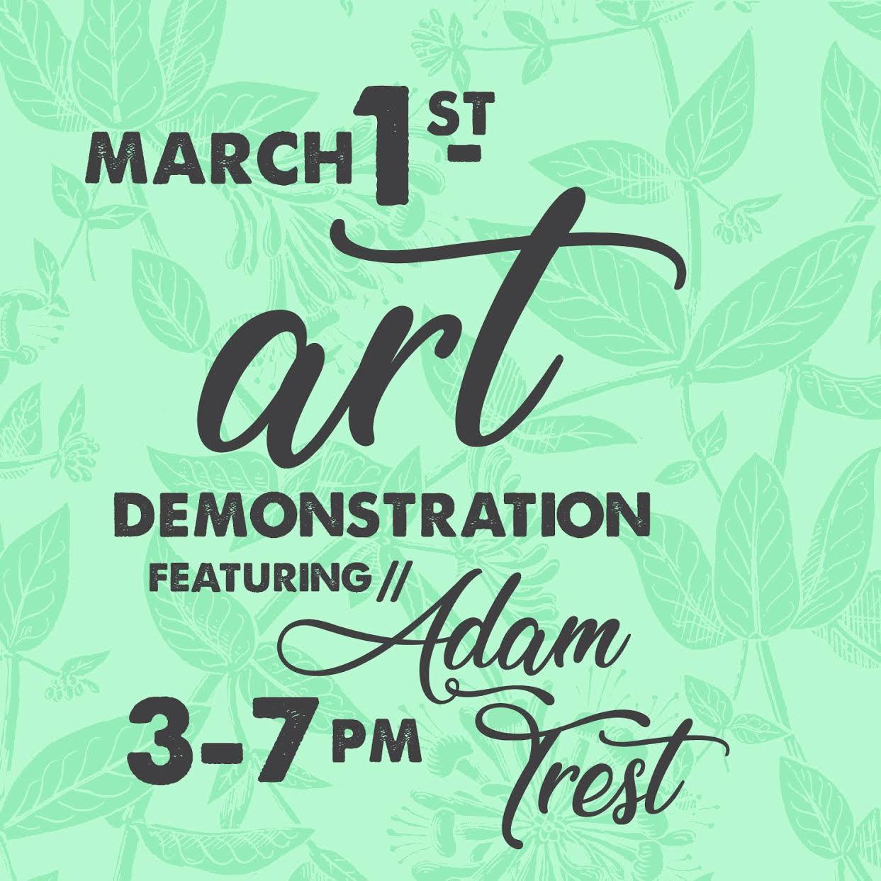 Adam Trest Caron Gallery Downtown Tupelo
