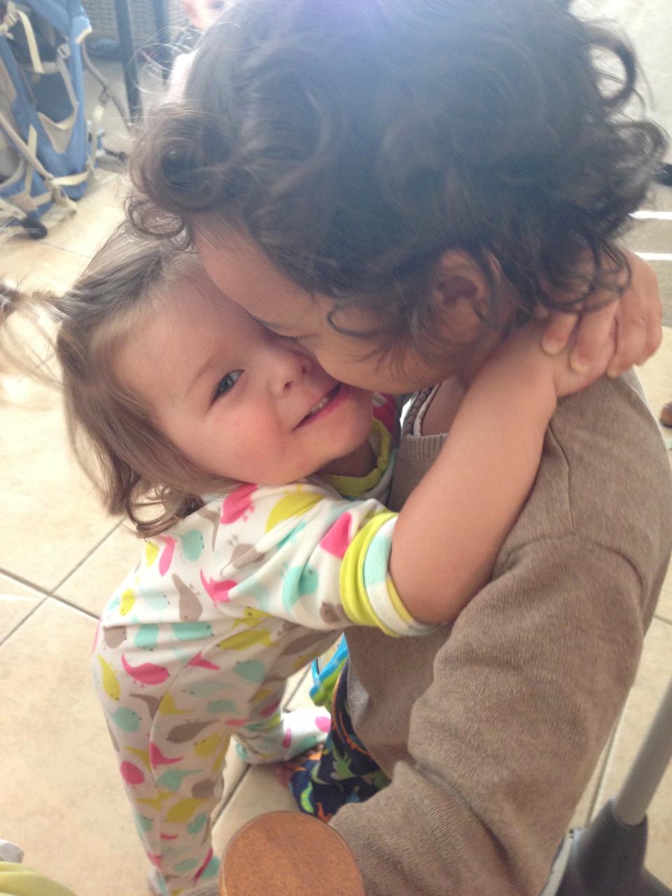 Heidi wanted big hugs <3