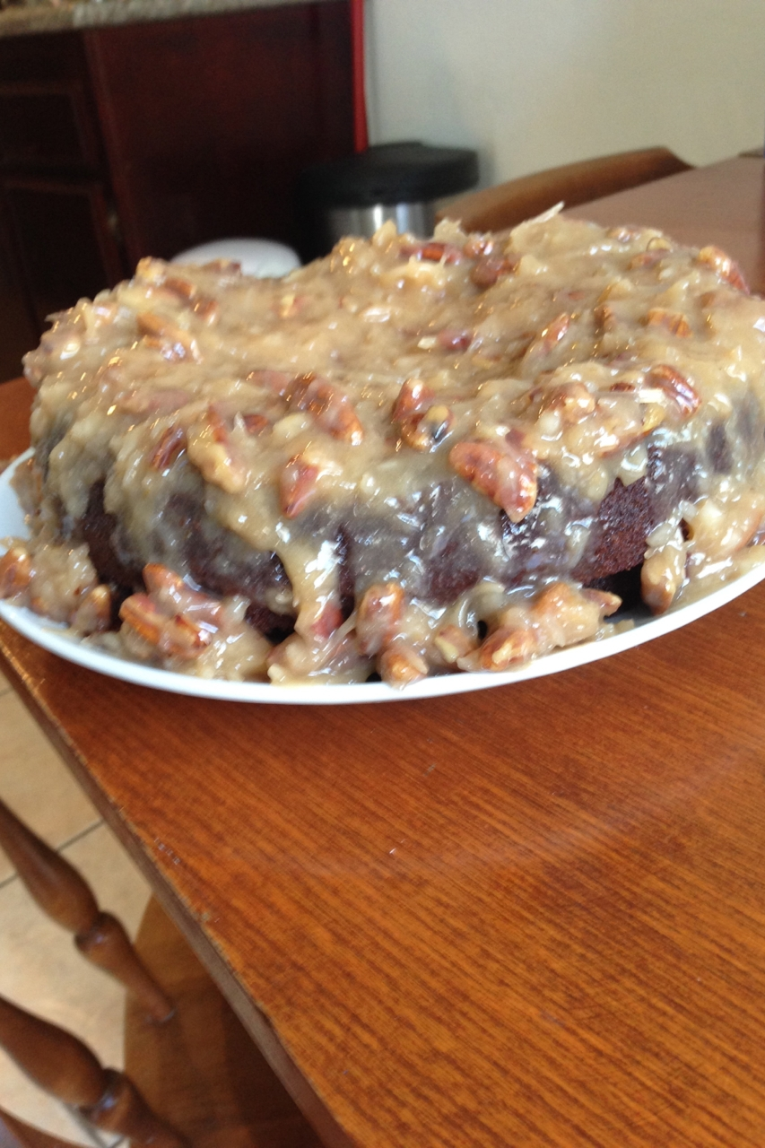 Trim Healthy Mama German Chocolate Cake