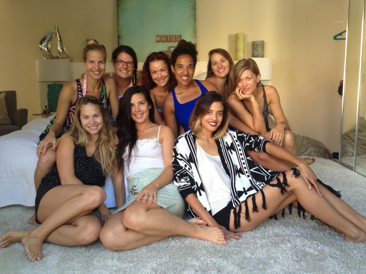 Girls weekend with my LA ladies.