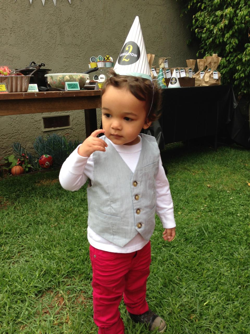 Kingston's 2nd Birthday