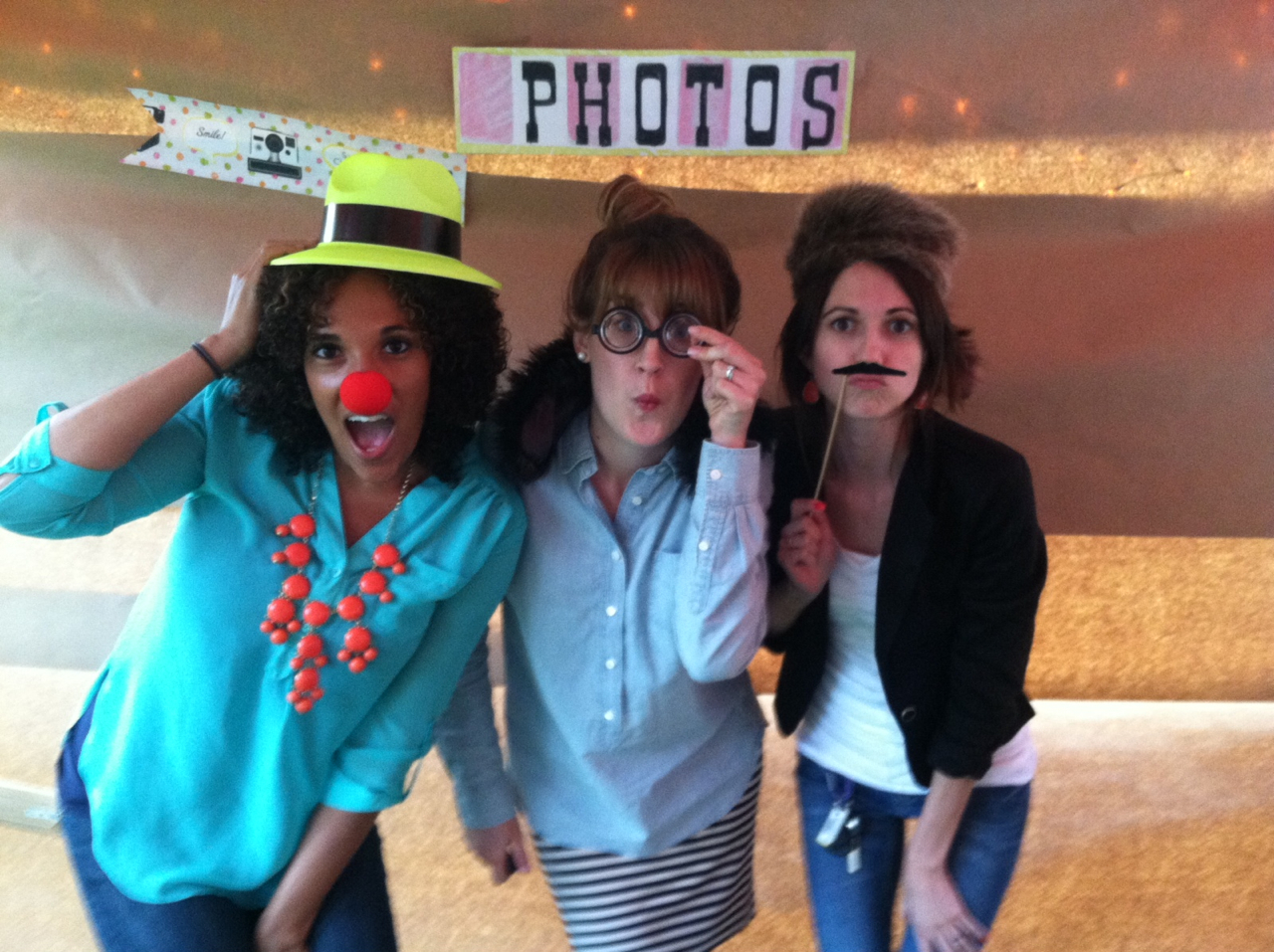 Trav's sister Kaydra's grad party. We had way too much fun in the photo booth.