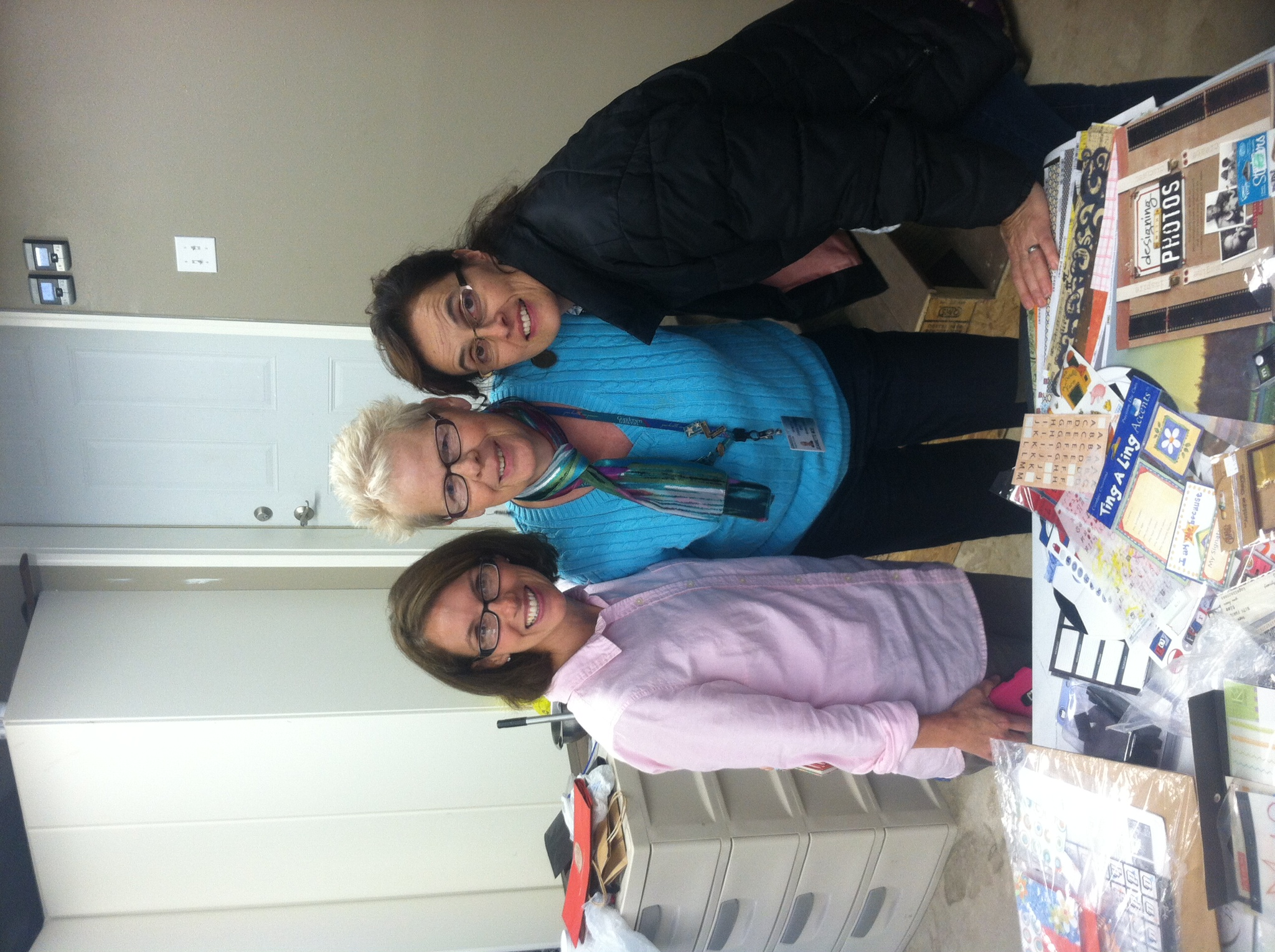 Travis's aunt+ planner of this entire event, Jenn {left}, Family friend, Jeannette {middle}, Travis's mom, Kaye {right}