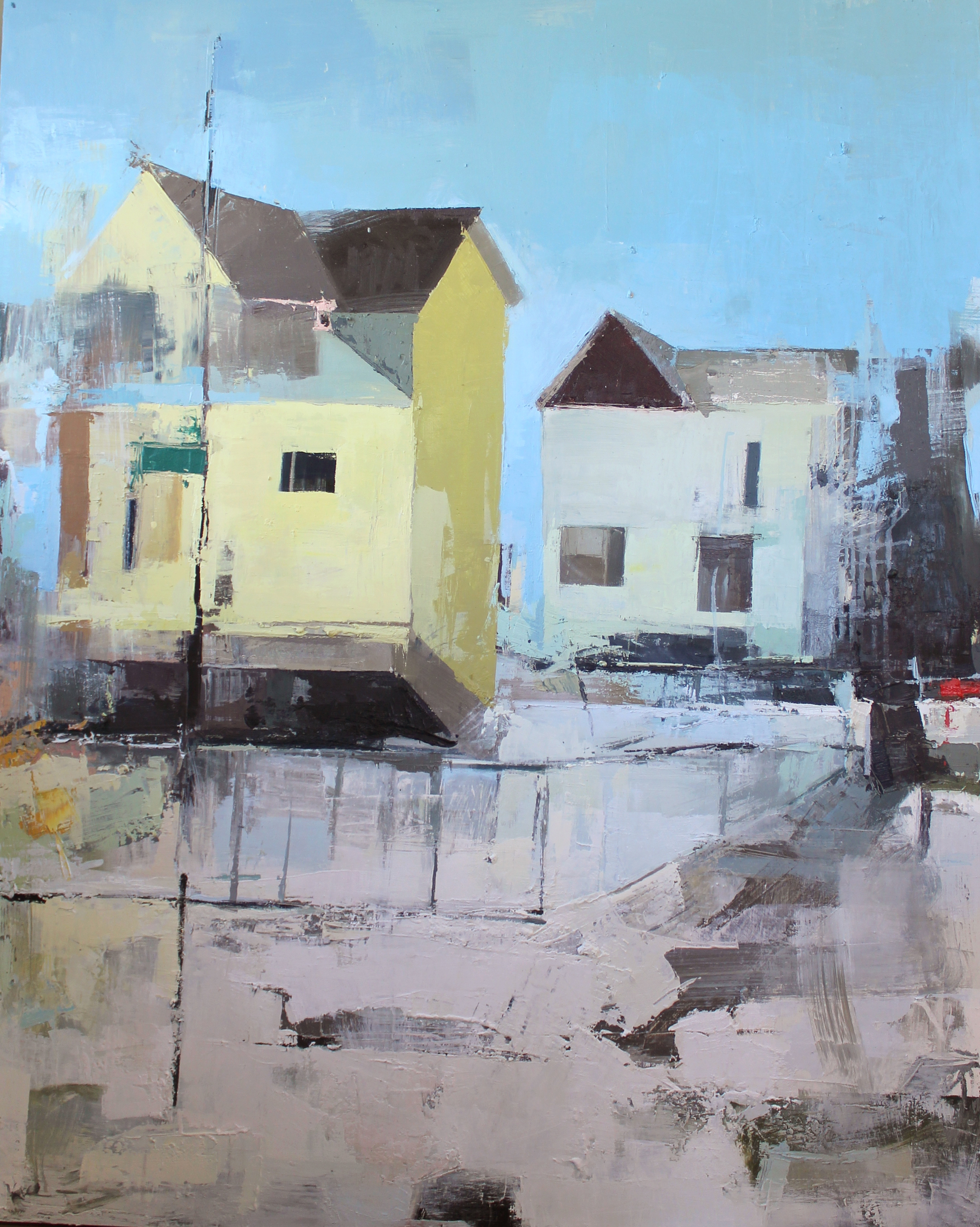 Homes,  Oil on Canvas 2013