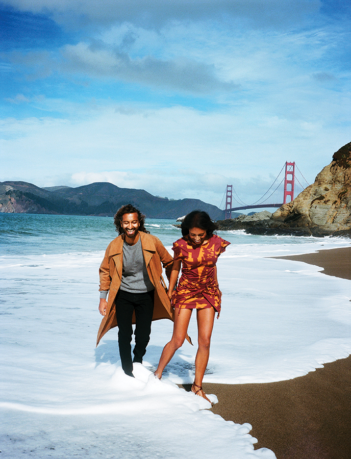 Prerna & Parag Gupta,Vogue US, April Issue