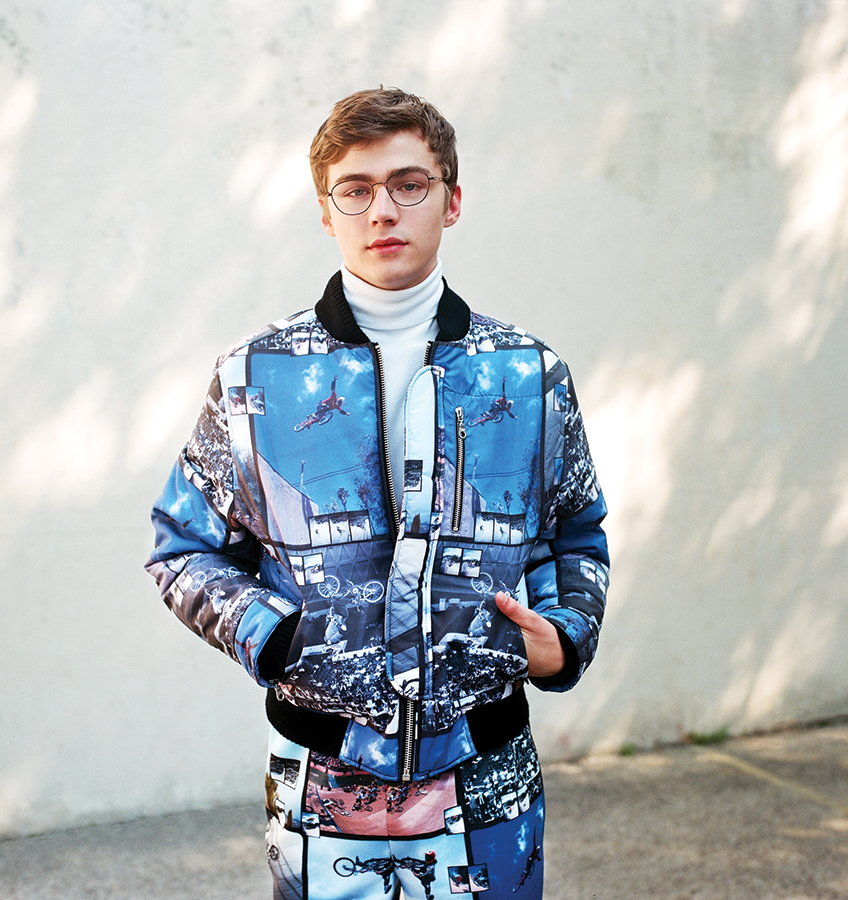 Miles Heizer for Teen Vogue, November Issue