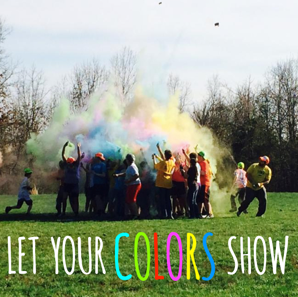 LET YOUR COLORS SHOW   Retreat package