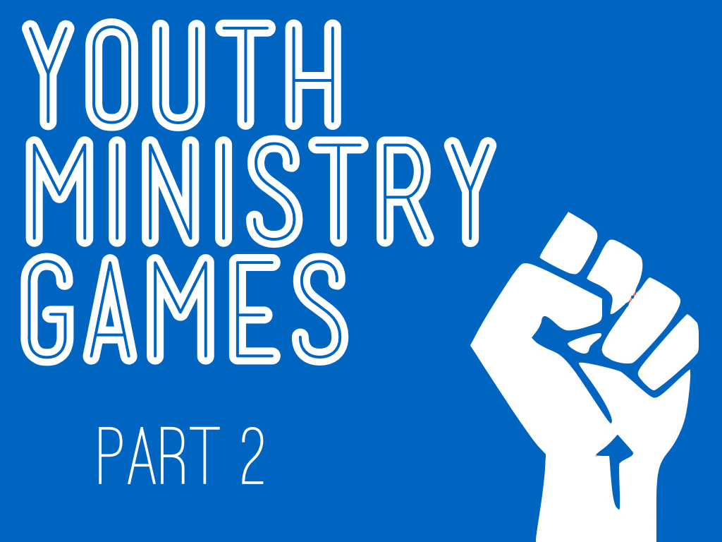 YOUTH MINISTRY GAMES PACK 2   By David Baker
