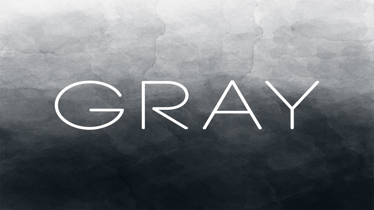 The Gray Series   six week series that will challenge your students to think about some of the issues of life that fall into the gray area