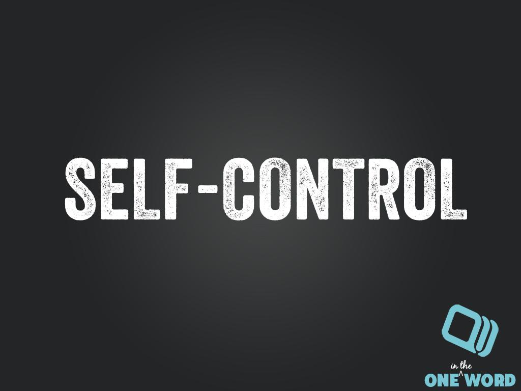 SELF-CONTROL SERMON   HERE'S A SERMON THAT WILL GIVE A SECRET TO SELF-CONTROL