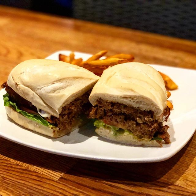 Happy Monday! We have a meatloaf sandwich served on a hoagie roll for our lunch special today.  Stop in and take a break from your Monday workload. . . . . . . . . . . . #mcgivneys #sportsbar #mightytasty #tasty #yum #juneau #ak #alaska #dinejuneau #dba #adventurebyday #luxurybynight #juneaueats #food #foodstagram #sports #juneaurestaurants #eats #eatlikealocal #instagood #restaurant #mcgivneysvalley #lunchspecial