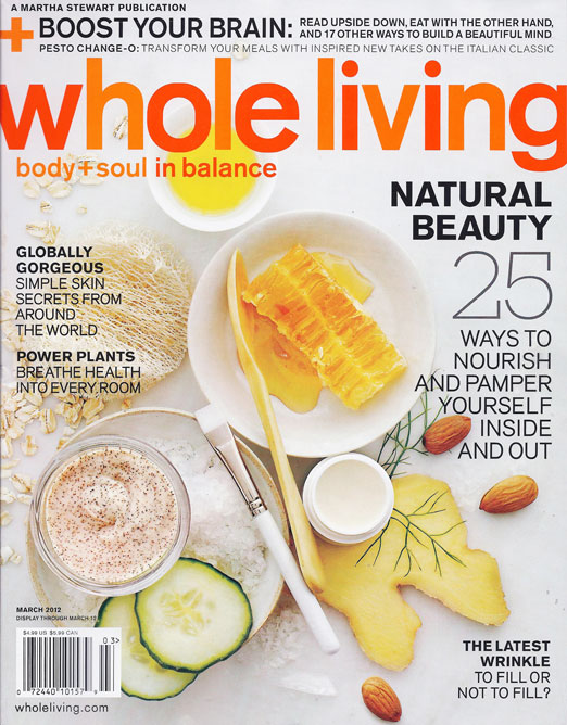 Whole Living, March 2012