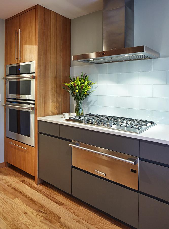 Cooktop & warming drawer