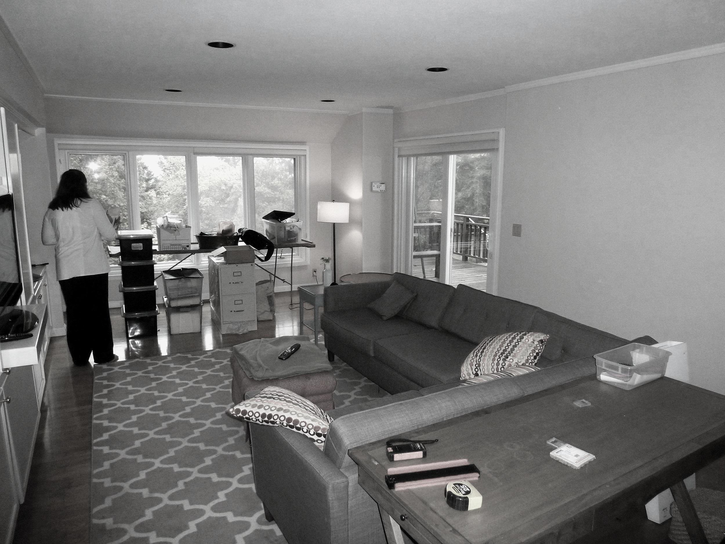 Family Room - Before