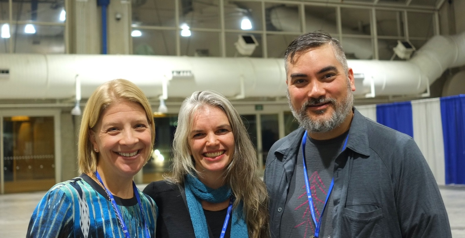 Drs. Lilgendahl, McLean, and Le at the 2016 SPSP conference in San Diego.