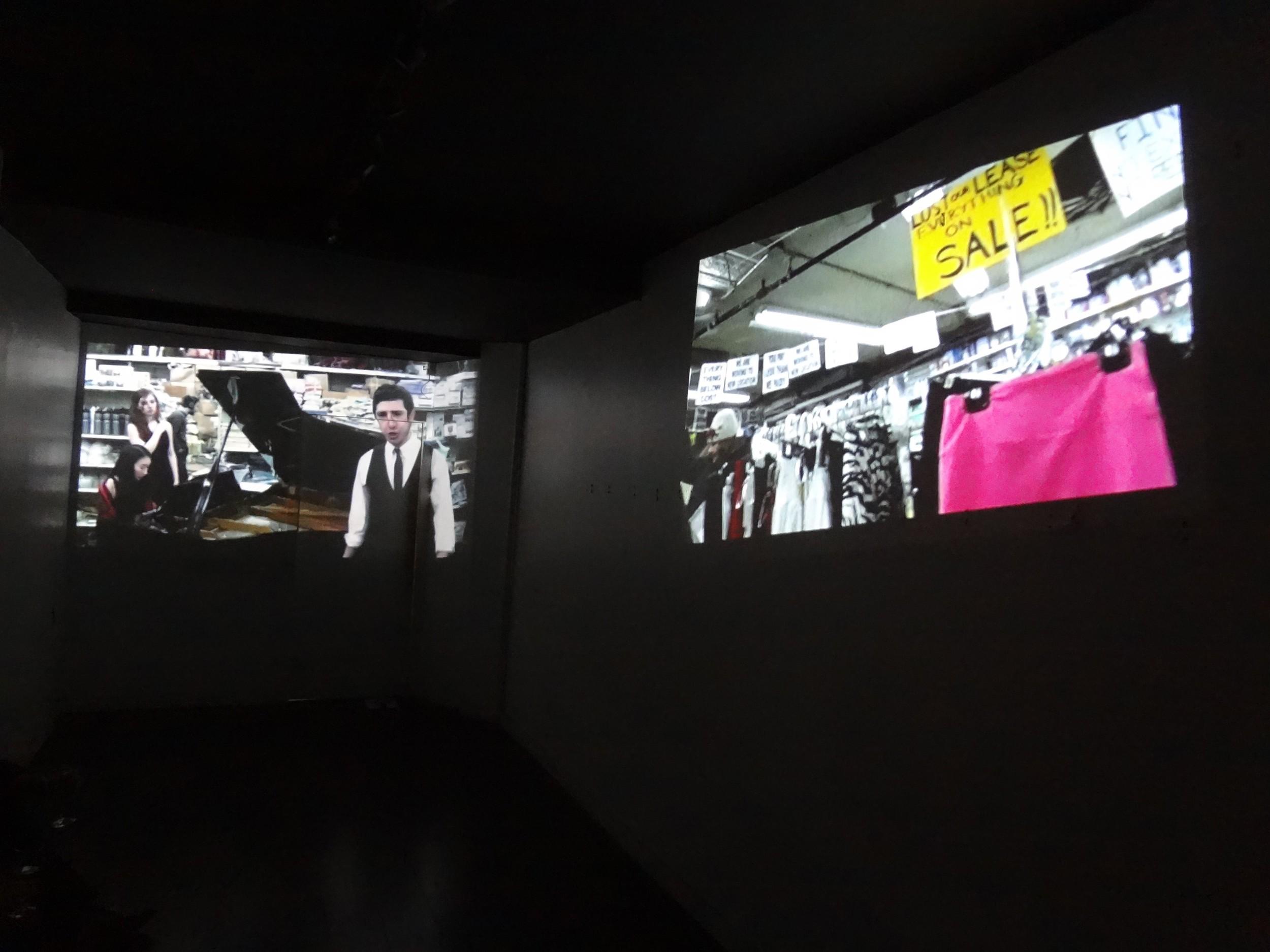 Rainer Ganahl   El Mundo (film, dual projection)  2013  55 min.  Edition 1/5