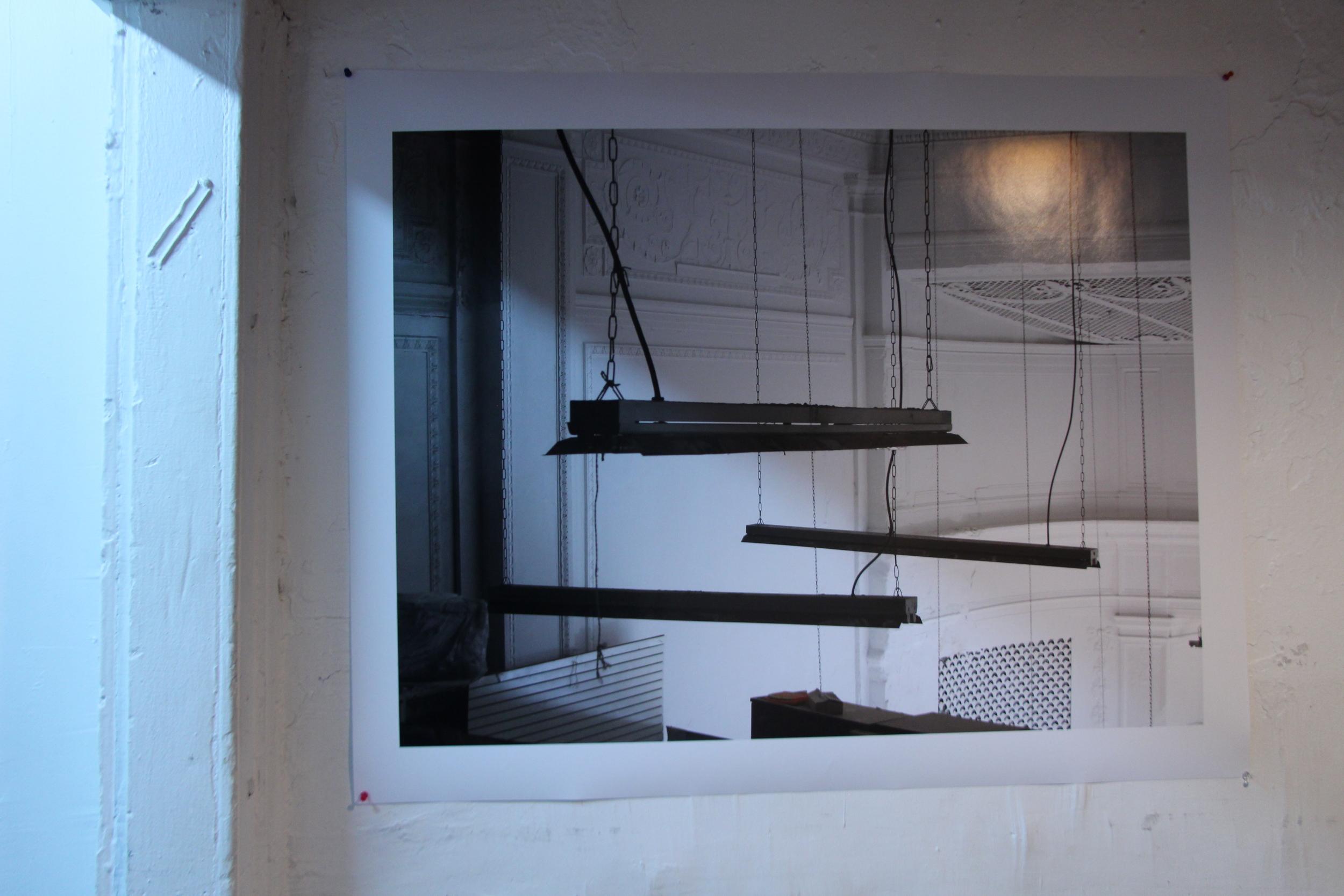 """Rainer Ganahl   El Mundo  3  2013  Inkjet on Archival  30"""" X 40""""  Edition 5/6 (Series of 20)"""