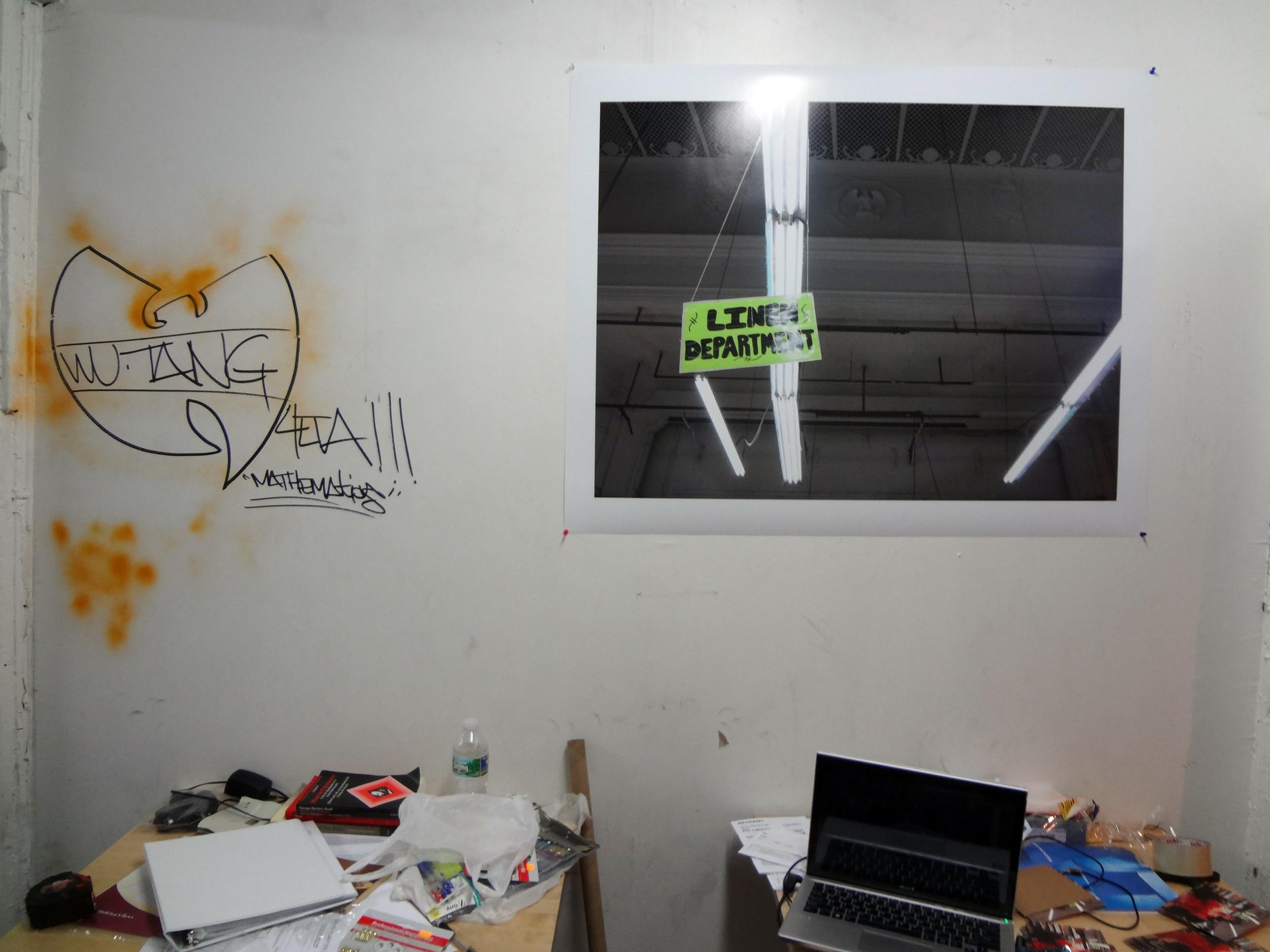 """Rainer Ganahl   El Mundo 13  2013  Inkjet on Archival  30"""" X 40""""  Edition 5/6 (Series of 20)"""