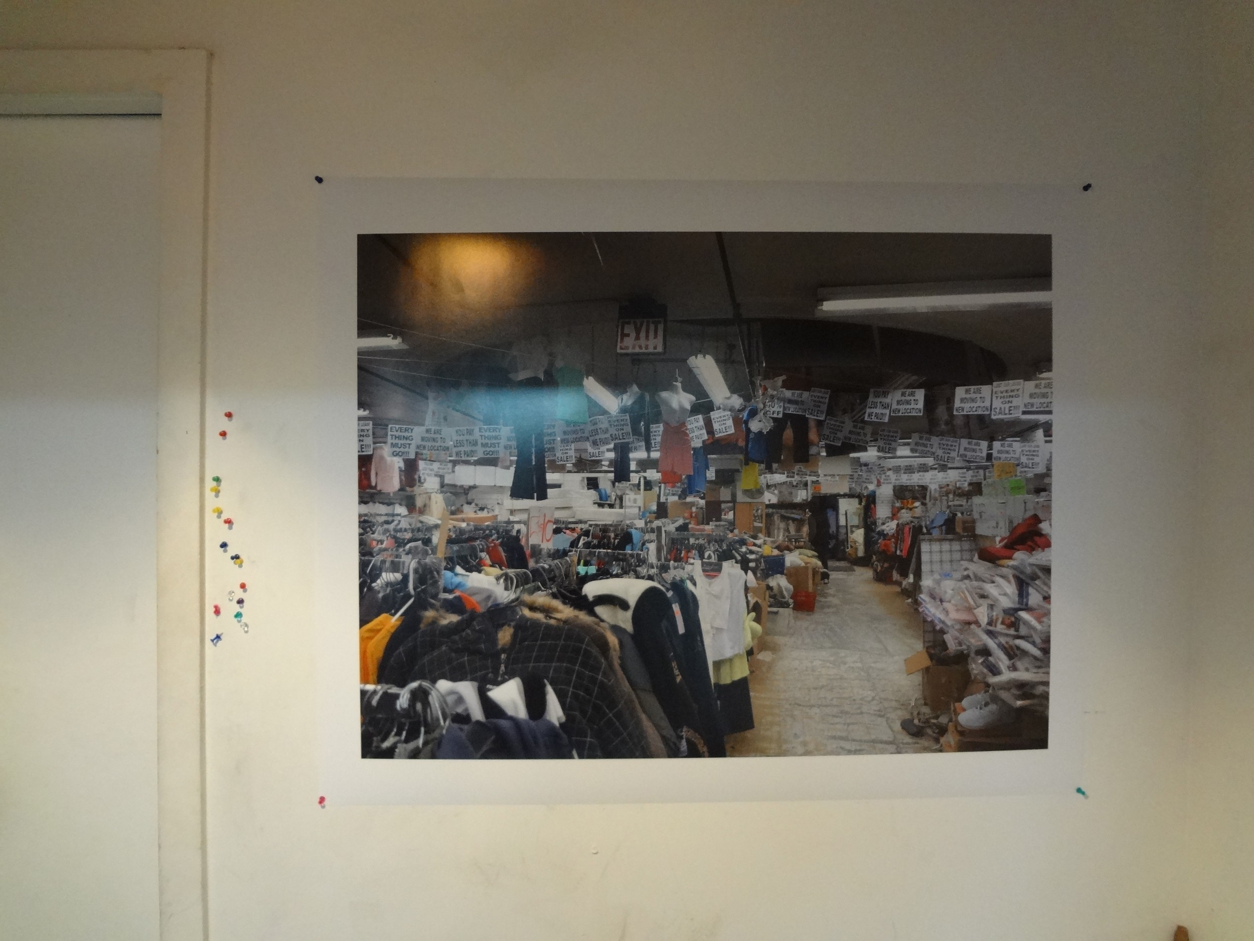 """Rainer Ganahl   El Mundo 18  2013  Inkjet on Archival  30"""" X 40""""  Edition 5/6 (Series of 20)"""
