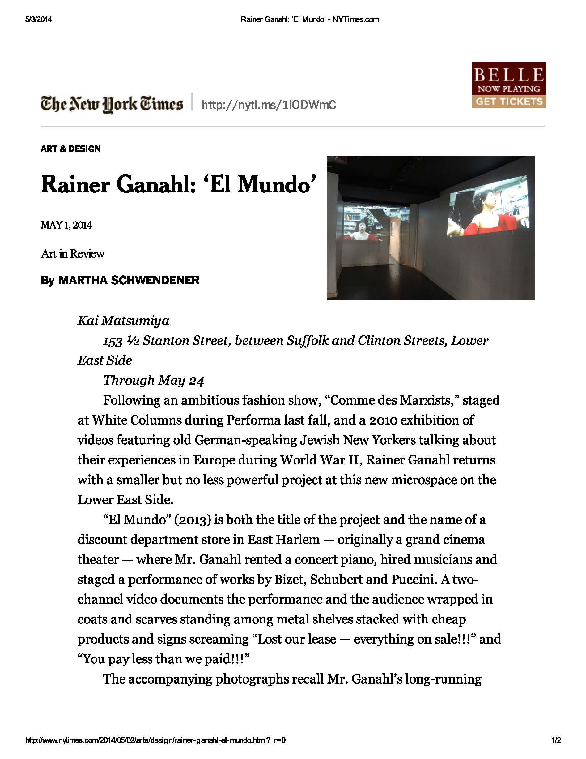 Rainer Ganahl_ 'El Mundo' - NYTimes_Page_1.jpg