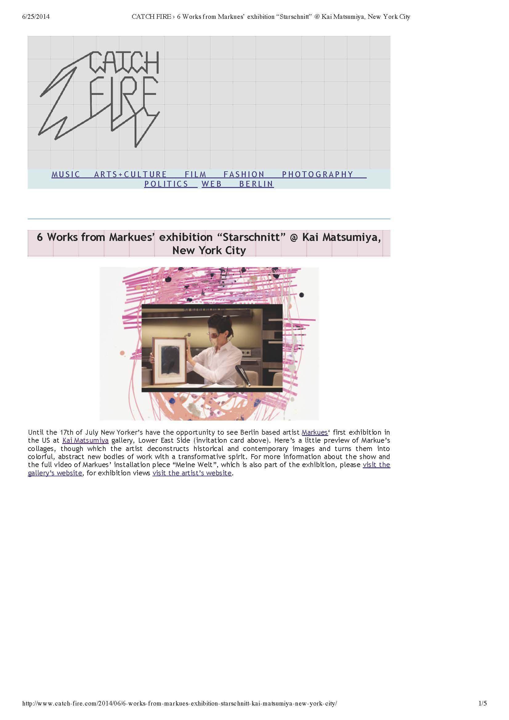 "CATCH FIRE › 6 Works from Markues' exhibition ""Starschnitt"" @ Kai Matsumiya, New York City_Page_1.jpg"