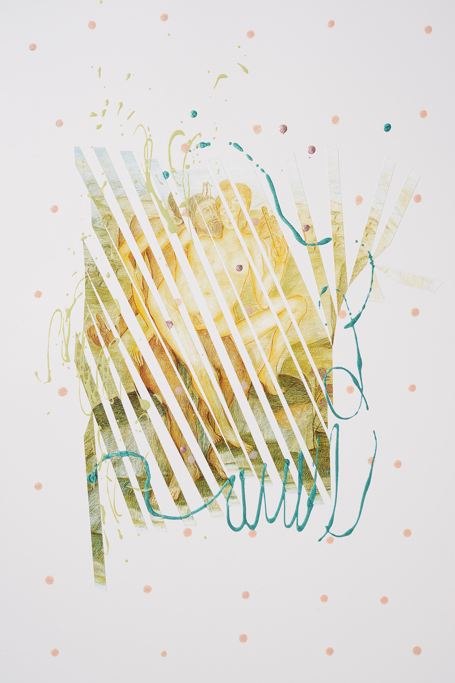 Markues, Hey Nude!, 2014, mixed media on paper, 60 x 40 cm.jpg