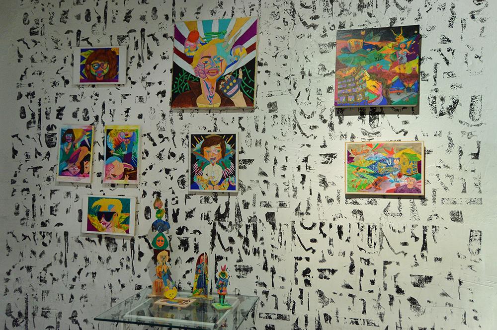 Installation Second Room Right Wall.jpg