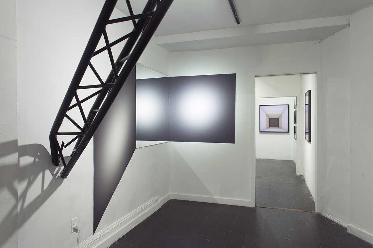 Installation view (close up)