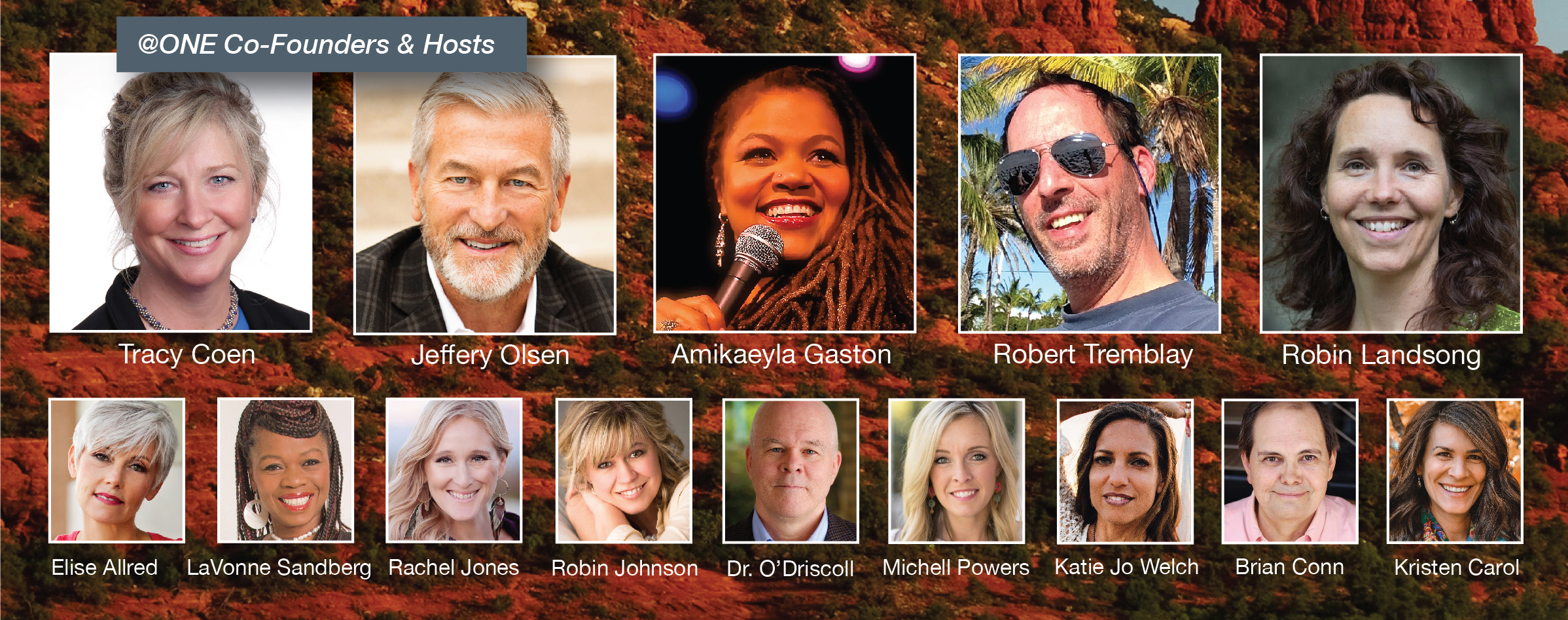 Oneness Through Human Triumph Event Speakers