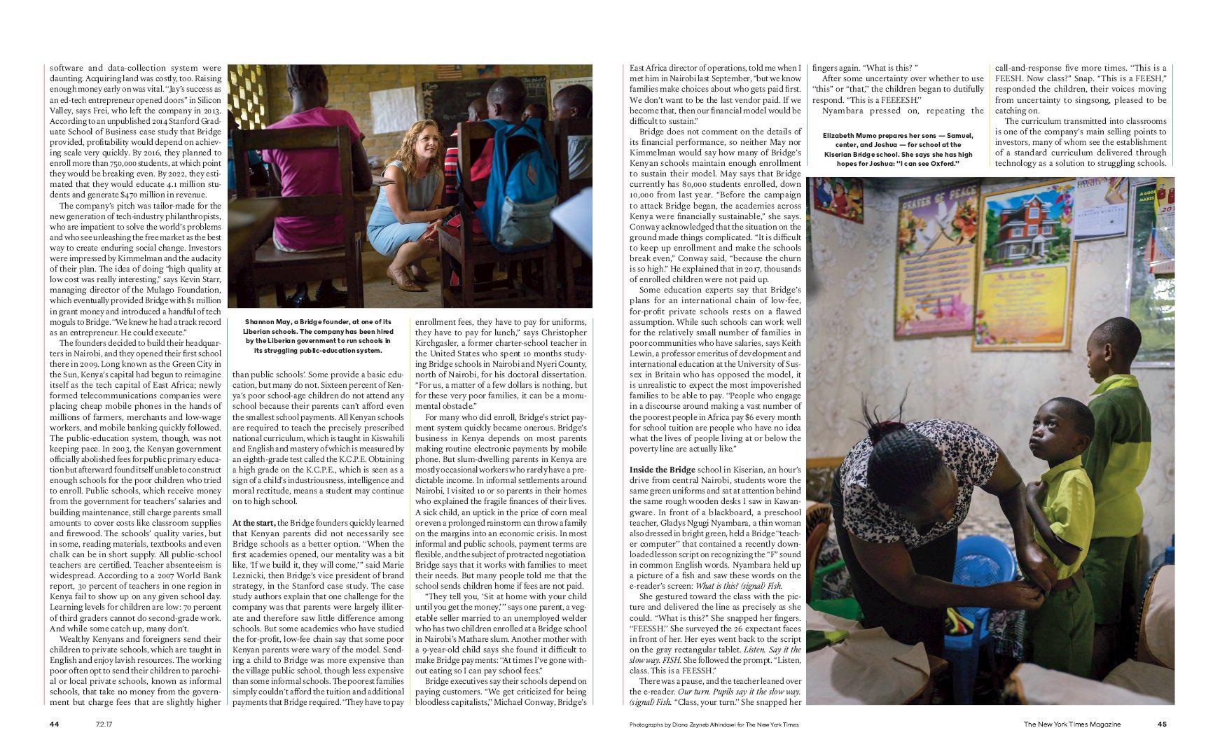 Diana Zeyneb Alhindawi_2017_07_02_New York Times Magazine_page 44 45_bridge education africa s.jpg