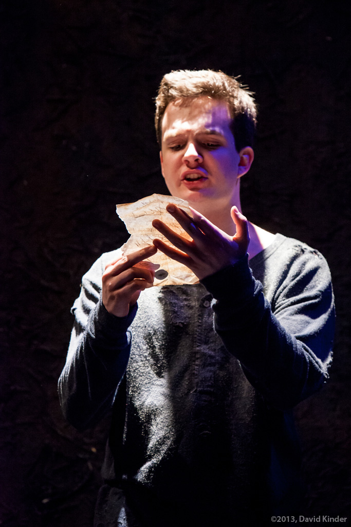 Christopher James as Saul in Baptism
