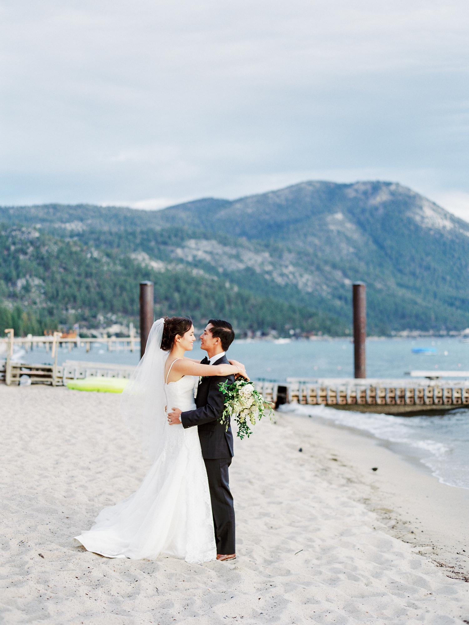 Lake tahoe wedding photographer at Hyatt Regency Lake Tahoe Resort