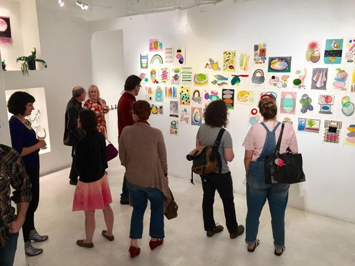 opening reception, Tomorroshambo, 2017, Art Space 1616, Sacramento, CA