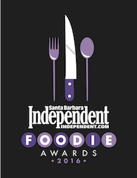 2016 Savvy Street Food Award by Santa Barbara Independent