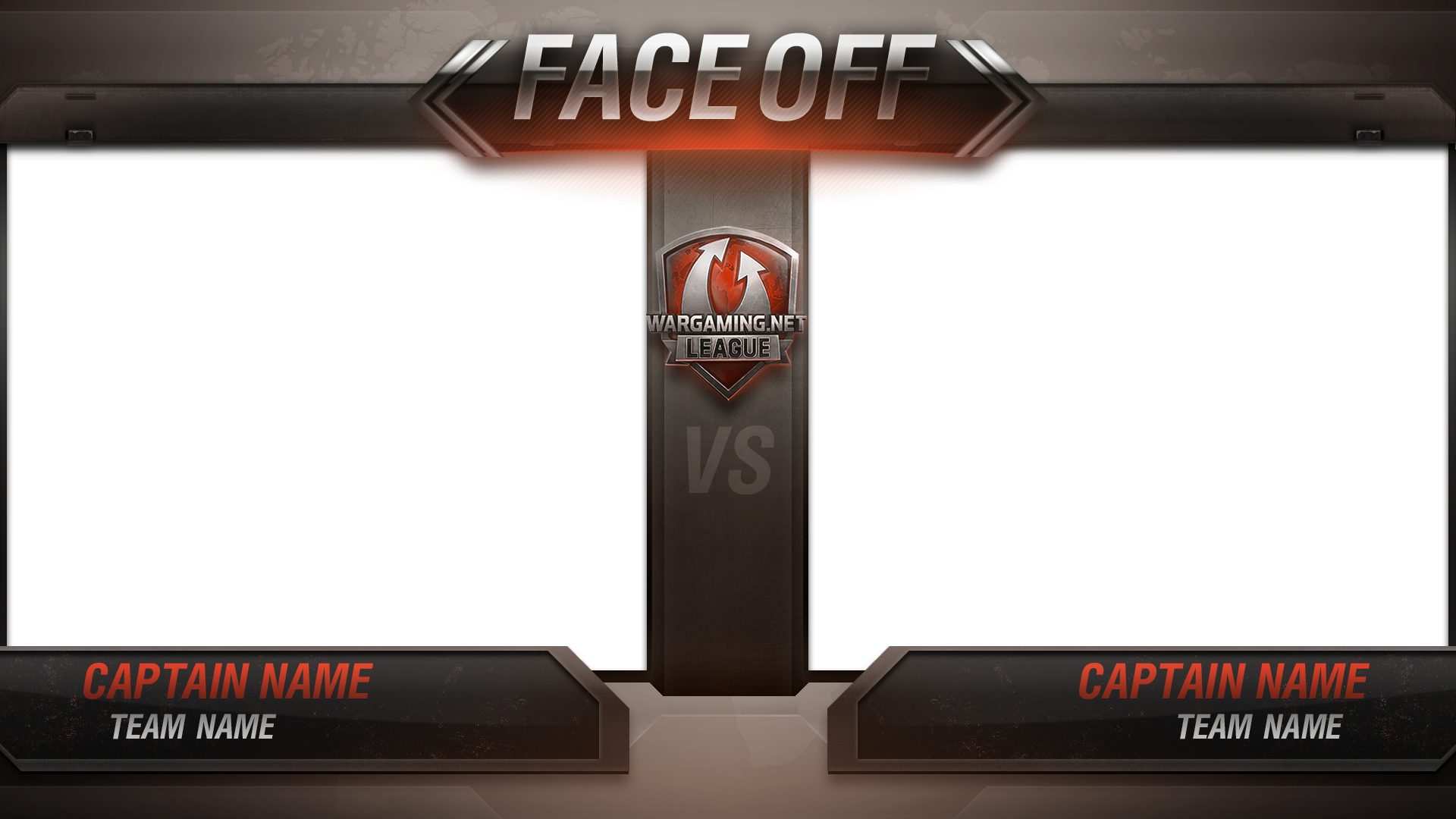 """Face Off"" Segment Graphic"